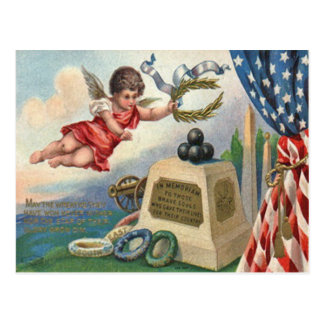 Cartão Postal Monumento da bola de canhão do Obelisk da bandeira
