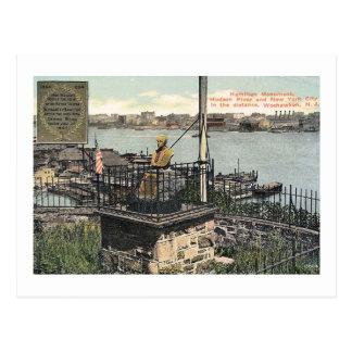 Cartão Postal Monumento de Alexander Hamilton, Weehawken,