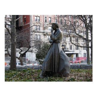 Cartão Postal Monumento de Eleanor Roosevelt