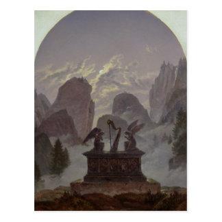 Cartão Postal Monumento de Goethe