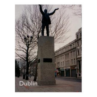 Cartão Postal Monumento de Jim Larkin, St. de O'Connel, Dublin,