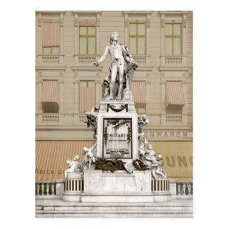 Cartão Postal Monumento de Mozart