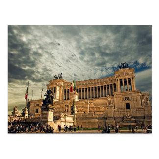 Cartão Postal Monumento de Vittorio Emanuele