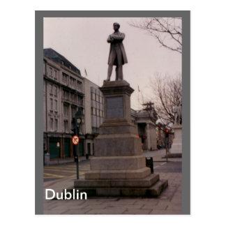 Cartão Postal Monumento de William Smith O'Brien, Dublin,