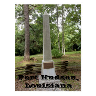 Cartão Postal Monumento do campo de batalha de Hudson do porto