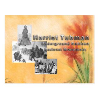 Cartão Postal Monumento nacional de ABH Tubman