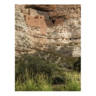 Cartão Postal Monumento nacional do castelo de Montezuma,
