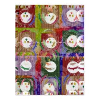 Cartão Postal MoonShine e sombreie formações artísticas