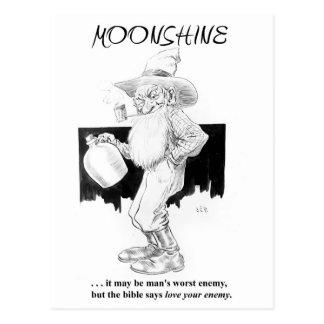 Cartão Postal Moonshine… o amor seu inimigo