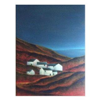 Cartão Postal Moorland em Penwith, Cornualha