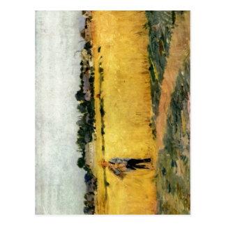 Cartão Postal Morisot, técnica 1875 de Berthe Kornfeld um C.