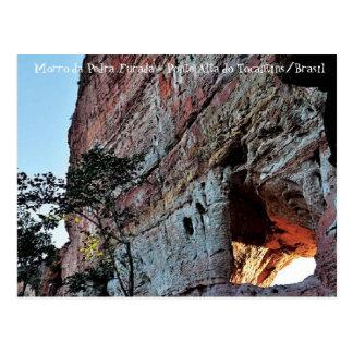 Cartão Postal Morro da Pedra Furada