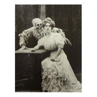 Cartão Postal Morte e a donzela