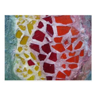 Cartão Postal Mosaico