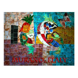 Cartão Postal Mosaico III de Murano