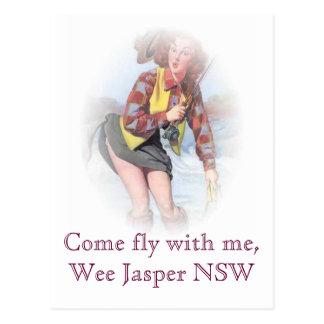 Cartão Postal Mosca vinda comigo, jaspe pequenino NSW
