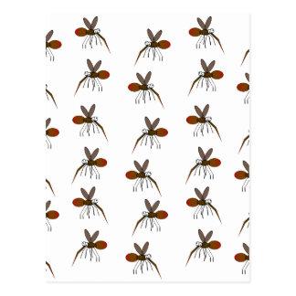Cartão Postal Mosquito