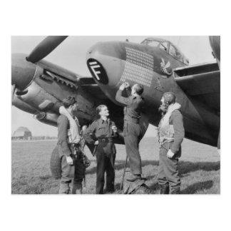 Cartão Postal mosquito de de Havilland
