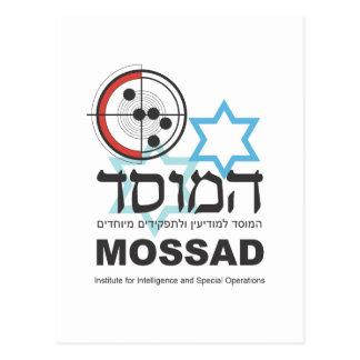 Cartão Postal Mossad, a inteligência israelita