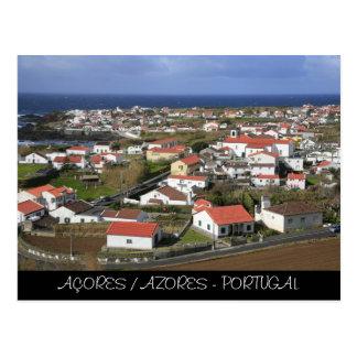 Cartão Postal Mosteiros - Açores