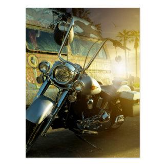 Cartão Postal motocicleta