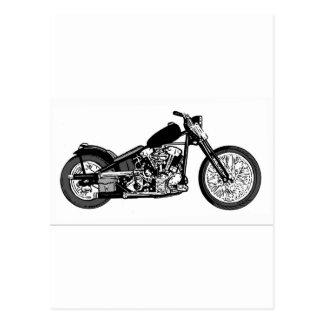 Cartão Postal Motocicleta principal de 68 juntas