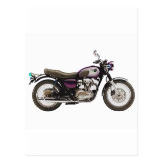 Cartão Postal Motocicleta retro