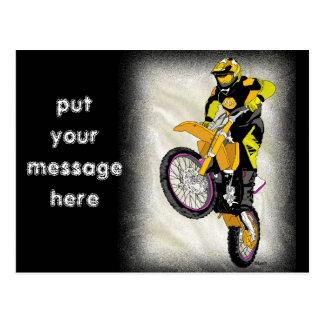 Cartão Postal Motocross 410