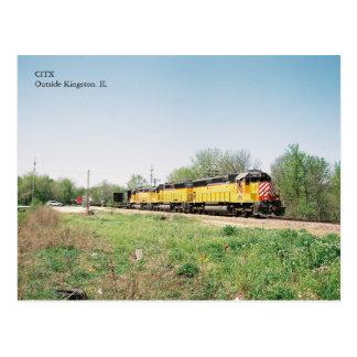 Cartão Postal Motores de CITX no primavera