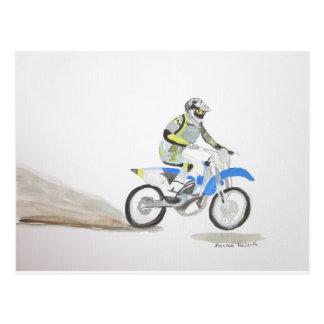 Cartão Postal Motorista do velomotor