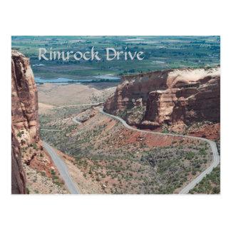 Cartão Postal Movimentação de Rimrock