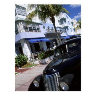 Cartão Postal Movimentação do oceano, Miami Beach Florida