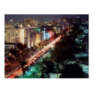Cartão Postal Movimentação dos EUA, Florida, Miami Beach,