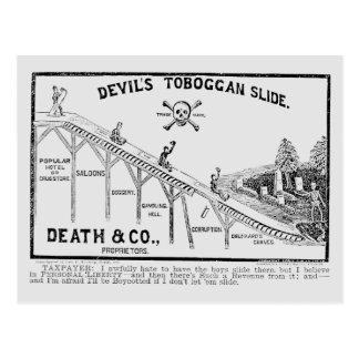 Cartão Postal Movimento da moderação, 1887