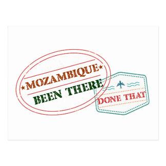 Cartão Postal Mozambique feito lá isso