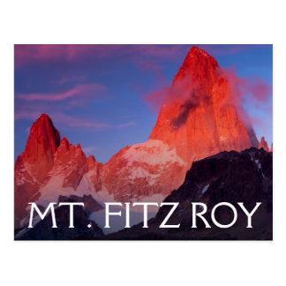 Cartão Postal Mt Fitz Roy