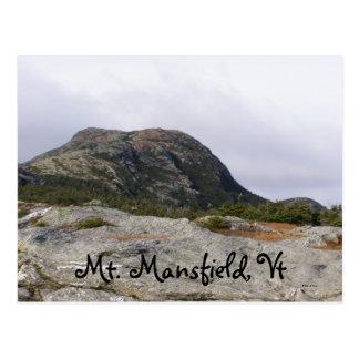 Cartão Postal Mt. Mansfield, Vt