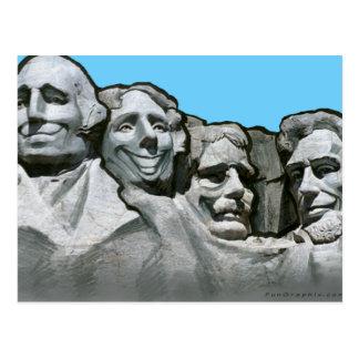 Cartão Postal Mt Rushmore