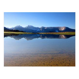 Cartão Postal Mt Whitney do platô 2 do Bighorn - fuga de John