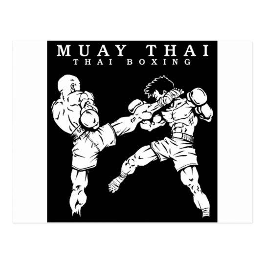 Cartão Postal muay thai
