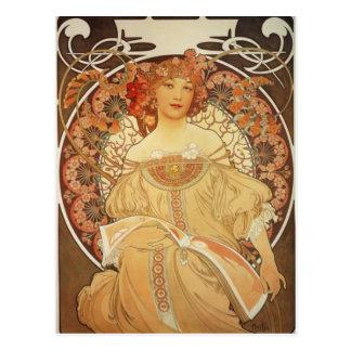 Cartão Postal Mucha-2-1890