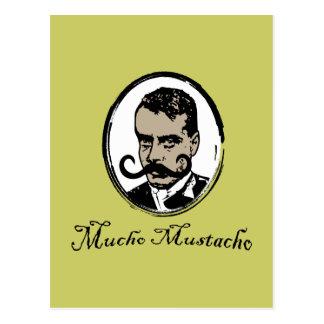 Cartão Postal Mucho Mustacho - Zapata