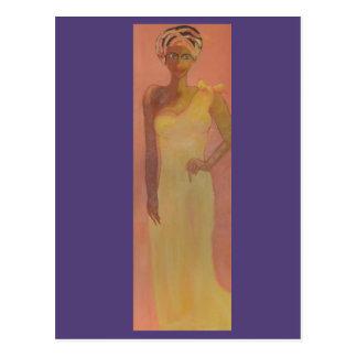 Cartão Postal Mulher africana majestosa