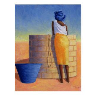 Cartão Postal Mulher boa 1999
