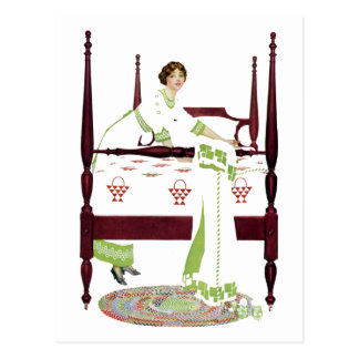Cartão Postal Mulher de Coles Phillips e quatro poster e