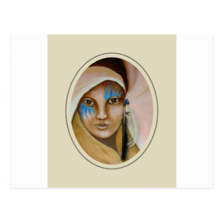 Cartão Postal Mulher emergente 3