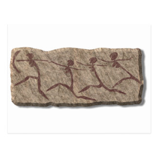 Cartão Postal Mulher-pedra Running