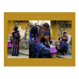 Cartão Postal Mulheres de Atitlan
