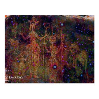 Cartão Postal Mulheres do arco-íris