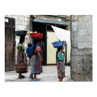 Cartão Postal Mulheres do Maya, Antígua, Guatemala